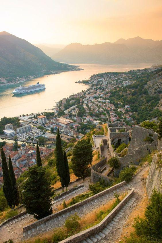 Stunning view of Montenegro