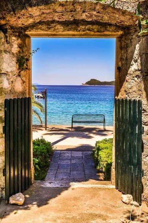 Breathtaking coastline of Croatia