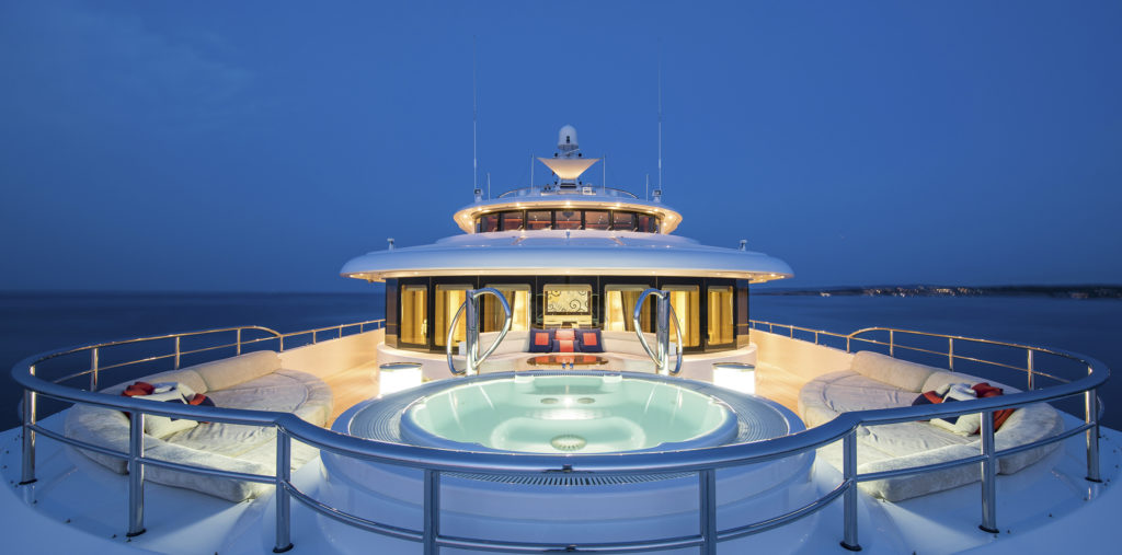 What devines the price of a yacht?